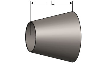 Cone, Plain Both Ends