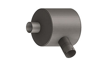 Exhaust Silencer, Compact Series, 800 Series