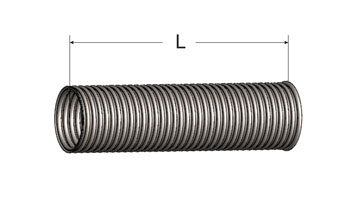 Corrugated Exhaust Flex Hose