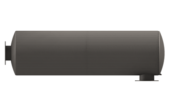 Exhaust Silencer, Cylindrical Series