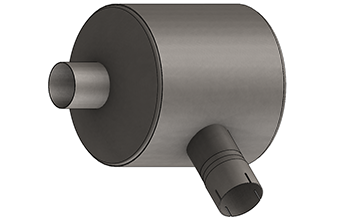 Compact Series Exhaust Silencer