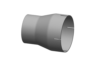 Exhaust Reducer/Expander – Plain/Slotted ID Cuff