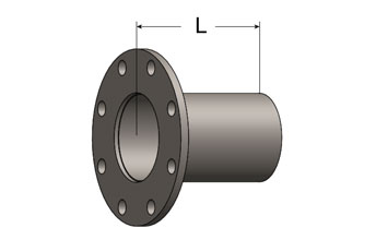 Exhaust Outlet Extension, ANSI Flange/Plain