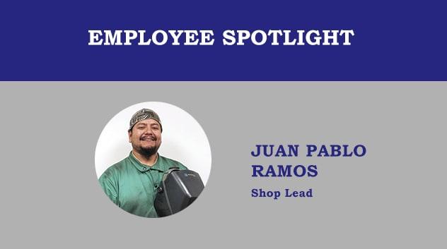 Employee Spotlight - Pablo