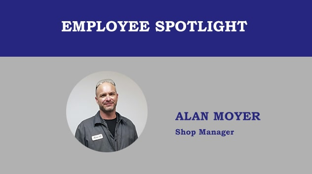 Employee Spotlight - Alan